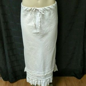 Linen Peasant Skirt by Old Navy